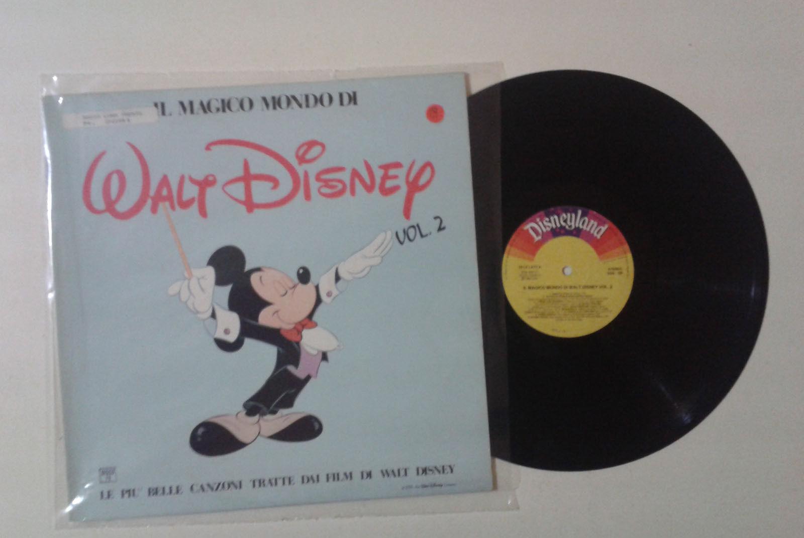 Il magico mondo di walt disney vol 2 lp disneyland 2292 for Mondo selvaggio di cabine disney
