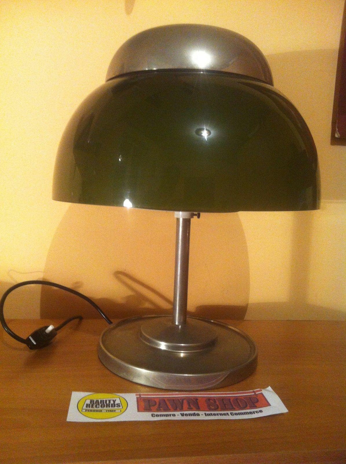 Lampada modernariato anni 50 60 da tavolo scrivania for Musica rilassante da ufficio